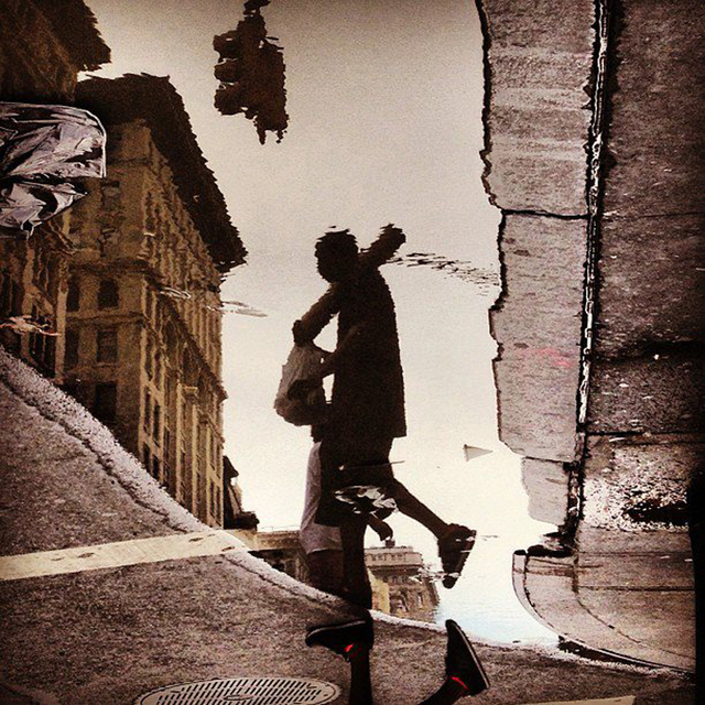 , 'Puddles, NYC,' 2013, Machamux