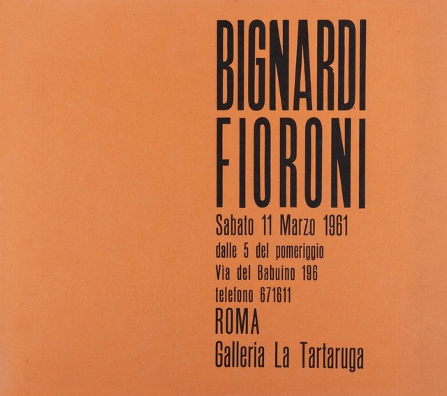 Umberto Bignardi, 'Group exhibition', 1961, Finarte