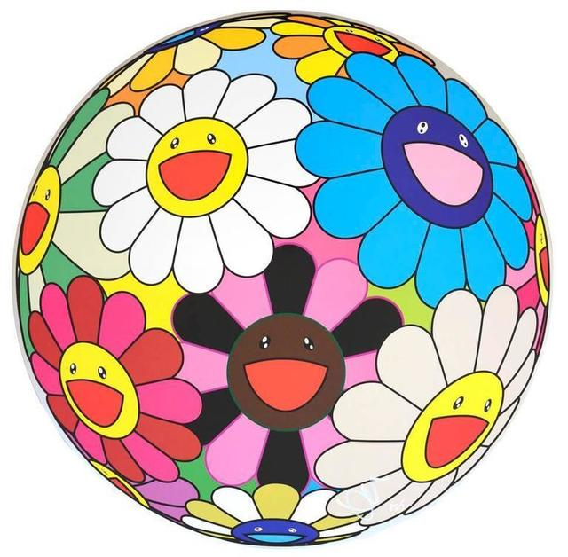 Takashi Murakami, 'Flower Ball (Algae Ball)', 2013, Lougher Contemporary