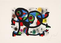 Joan Miró, La triple roué I, from 'Allegro vivace'