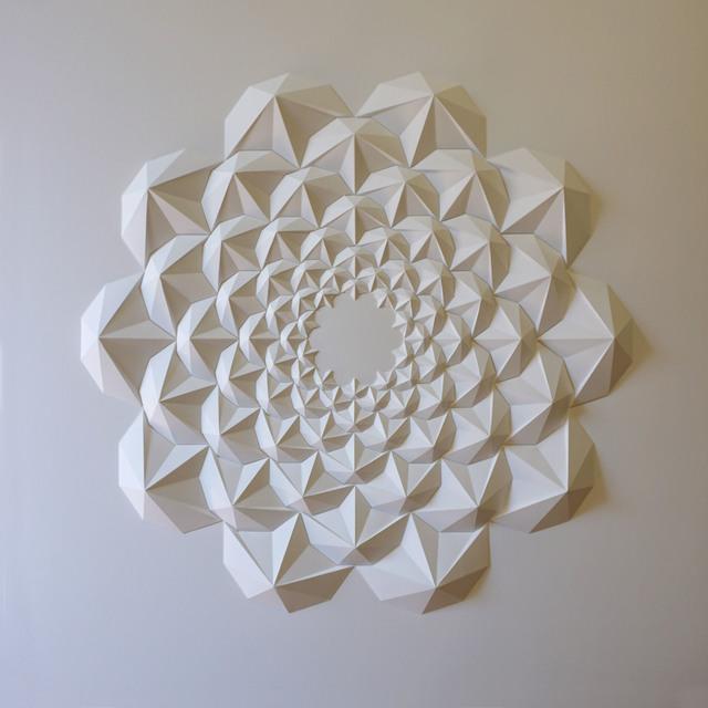 Matt Shlian, 'Lulu Test', 2015, Sculpture, Folded paper, Michael Warren Contemporary