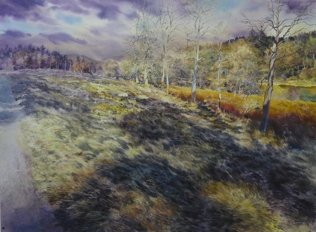 , 'And when they were in the midst of it (Dunkeld),' 2014, Rebecca Hossack Art Gallery