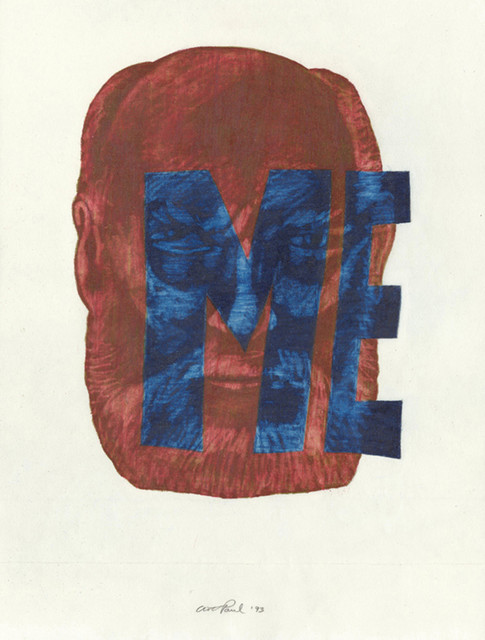 , 'Head Study 123,' 1993, CODA Gallery