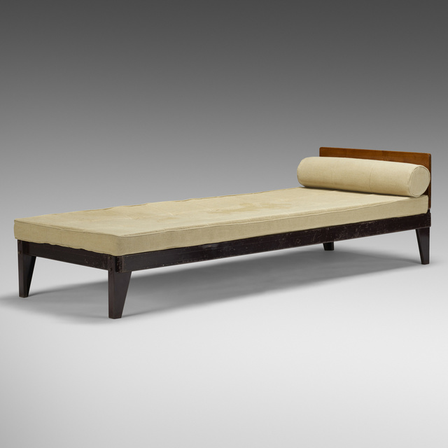 Jean Prouvé, 'bed from l'Unite d'Habitation Air France, Brazzaville', 1942, Rago/Wright