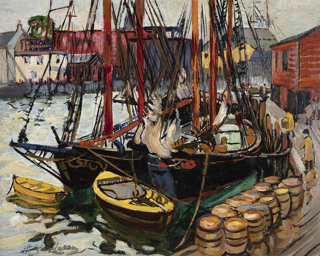 Hayley Lever, 'Harbor Scene', Questroyal Fine Art