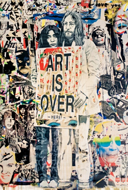 , 'John Lennon & Yoko Ono: Art is Over....Here,' ca. 2010, Alpha 137 Gallery