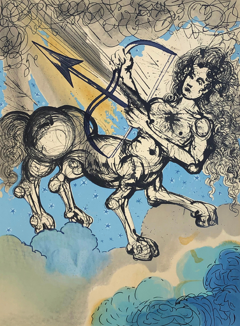 Salvador Dalí, 'Signs of the Zodiac: Sagittarius', 1967, Winchester Galleries
