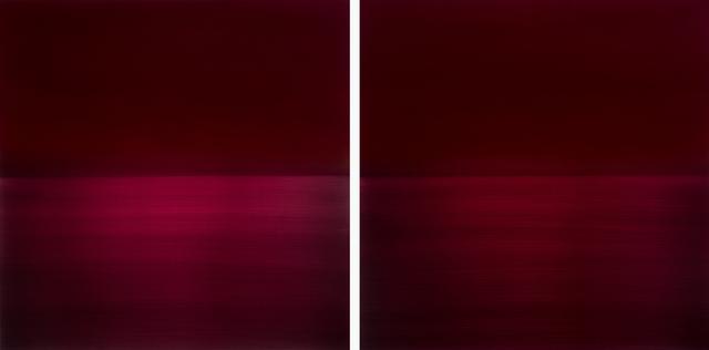 , 'Red Diptych Kurenai Crimson,' 2016, Sundaram Tagore Gallery