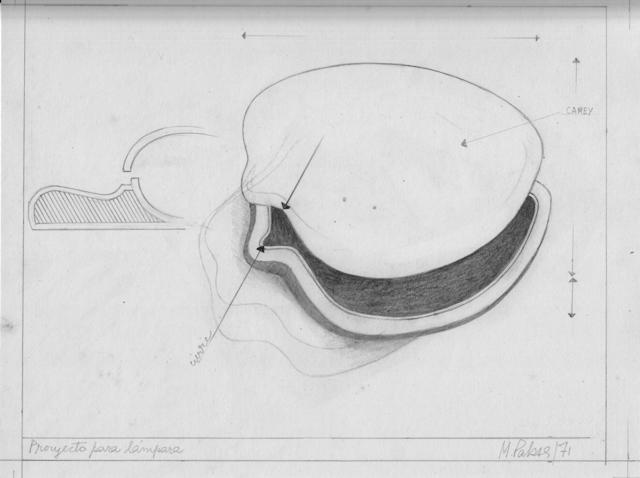 , 'Proyecto para lámpara,' 1971, Herlitzka + Faria