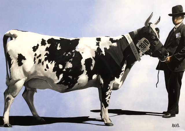 , 'PRIZE WINNING COW,' 2017, Galerie Artefact