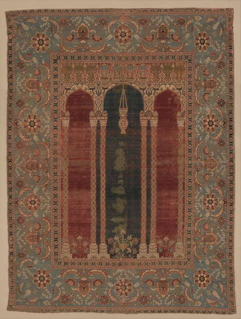 Unknown Designer, 'Carpet with Triple-arch Design', ca. 1575–1590, The Metropolitan Museum of Art