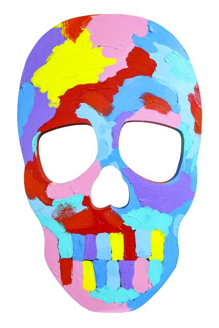 , 'Skull Face III,' 2017, Maddox Gallery