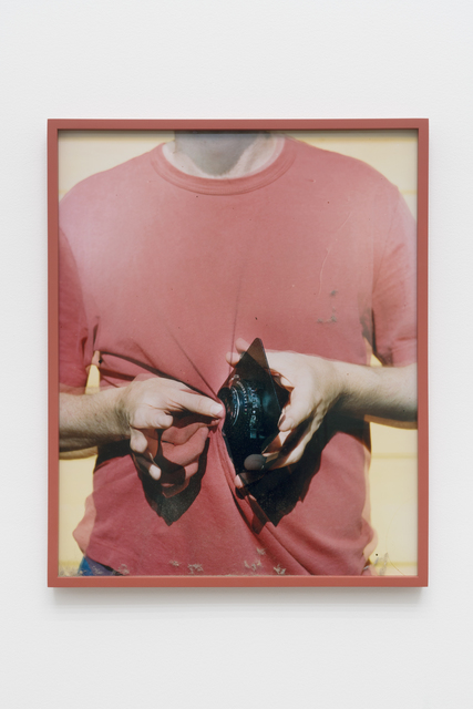 , 'Lens Cleaning Rodenstock Apo-Sironar 5.6/135MM; James Perse Sun Stone Crewneck Jersey T-shirt,' 2017, CHOI&LAGER