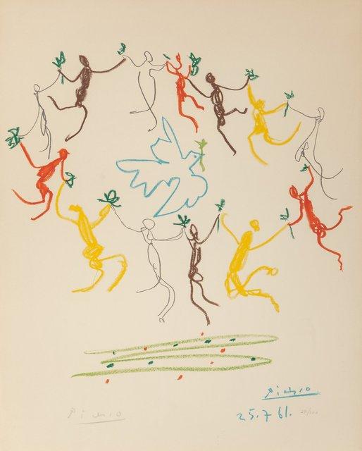 Pablo Picasso, 'La Ronde de la Jeunesse', 1961, Print, Lithograph in colors on Arches paper, Heritage Auctions
