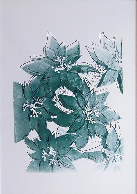 Andy Warhol, 'Poinsettias', ca. 1983, Hamilton-Selway Fine Art