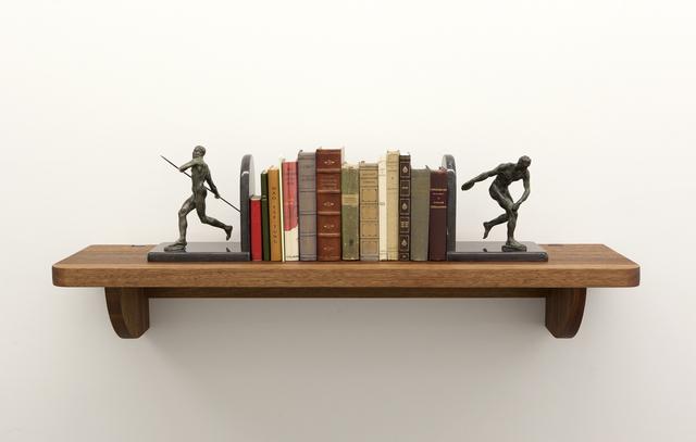, 'Serial Killer Bookshelf,' 2013, Barbara Gross