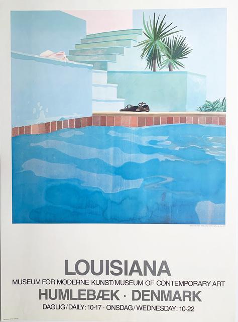 David Hockney, 'David Hockney, Louisiana , Museum for Moderne Kunst/ Museum of Contemporary Art, Humlebaek, Denmark', 1976, David Lawrence Gallery