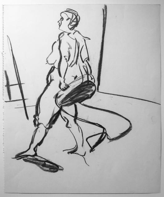 , 'O. T. (Akt auf Stuhl),' 1974, Galerie Ostendorff