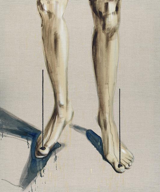 , 'Gelehrtenbeine - Balance on the Beach,' 2015, Artdepot