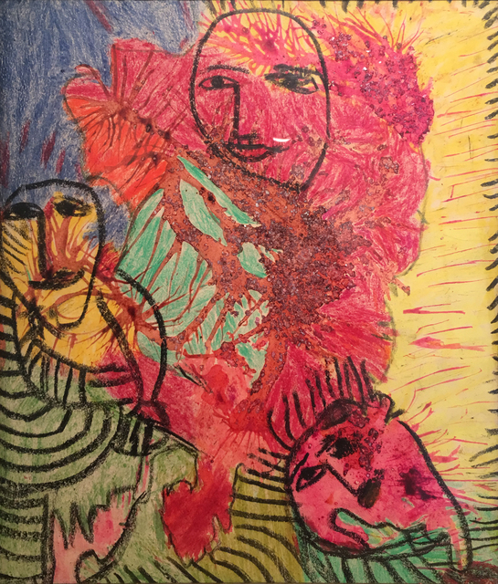 Janet Sobel, 'Untitled', ca. 1946, James Barron Art