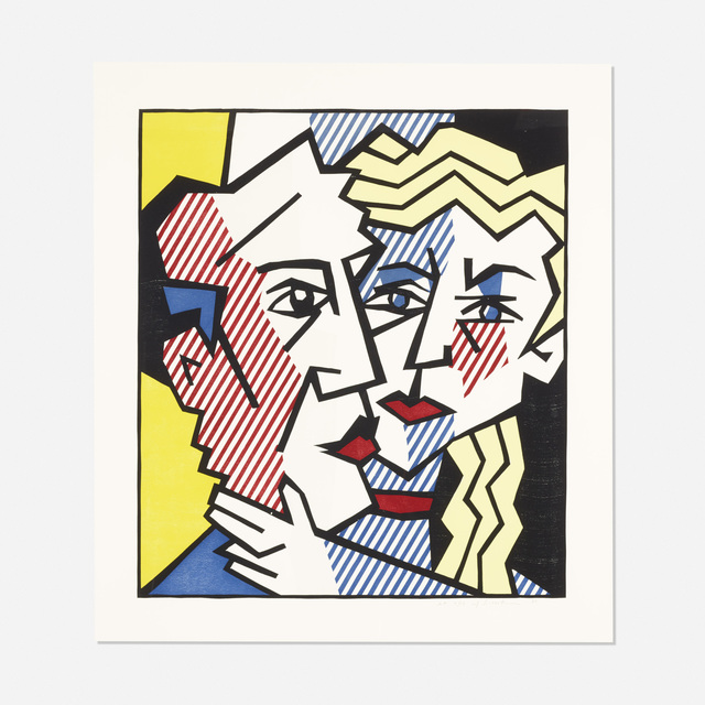 Roy Lichtenstein, 'The Couple (from the Expressionist Woodcut series)', 1980, Wright