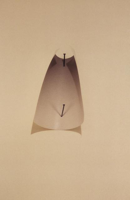 , 'two nails,' 1987, Galeria Nara Roesler