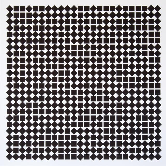 , 'Carrés en deux positions 2,' 2013, Atelier-Editions Fanal