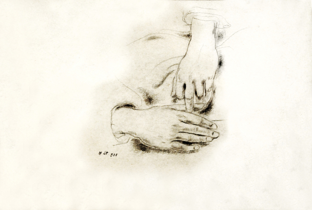 , 'Hands,' 1938, Nasui Collection & Gallery