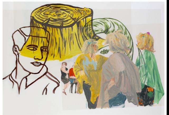 , 'Tronco amarillo,' 2007, Trinta