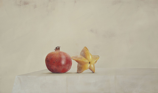 , 'Pomegranate and Starfruit,' 2015, Galerie Huit