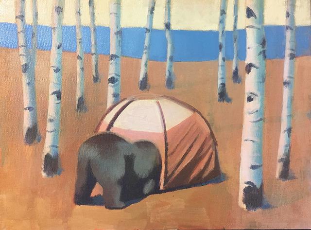 Travis Walker, 'Camping Nightmare No. 1', 2018, Visions West Contemporary