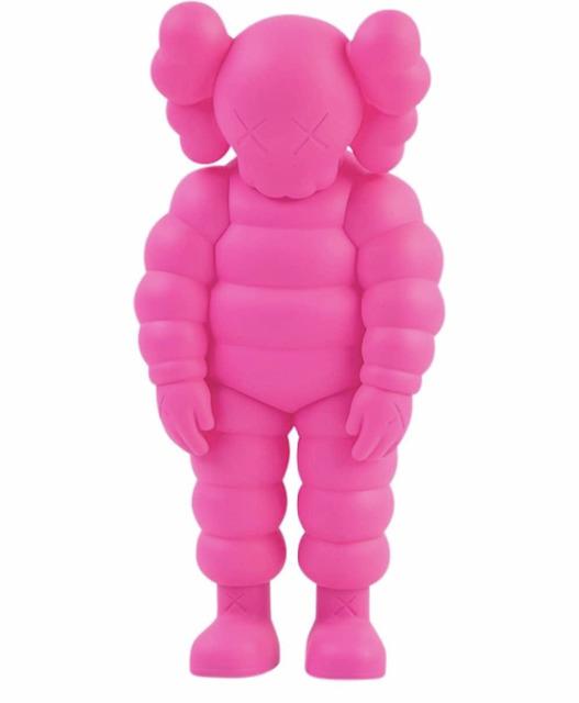 KAWS, 'What Party - Chum (Pink)', 2020, Sculpture, Vinyl, Dellasposa