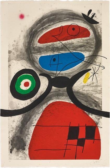 Joan Miró, 'L'Aïeule devant la mer (Grandmother Before the Sea)', 1969, Phillips