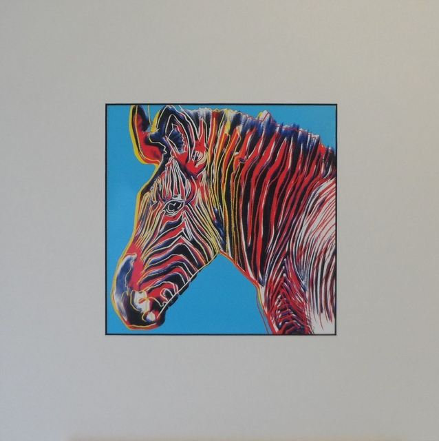 Andy Warhol, 'Zebra', 1987, Print, Colour Offset Print, Art276