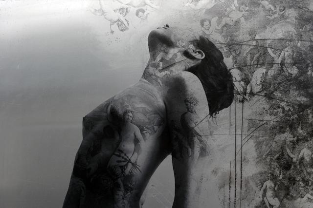 , 'Le Graal (detail),' 2017, Galerie LeRoyer