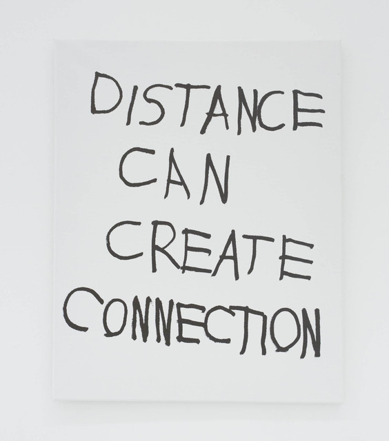 , 'DISTANCE CAN CREATE CONNECTION,' 2016, The Hole