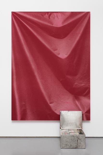 , 'Folds and Box,' 2015, Pilar Corrias Gallery