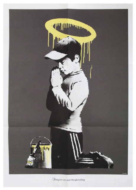 Banksy, 'Forgive Us Our Trespassing', 2010, EHC Fine Art Gallery Auction