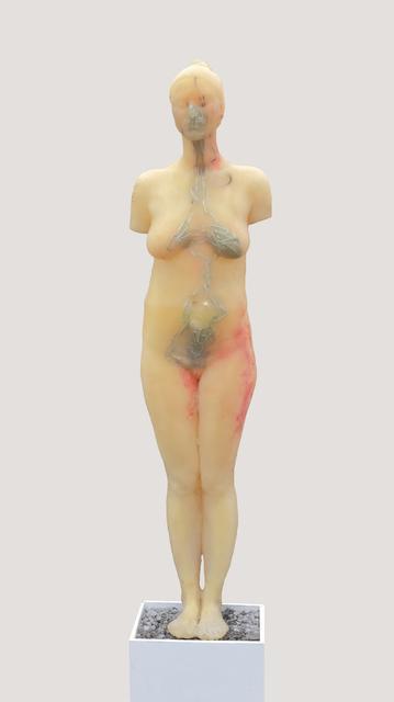 Maria Kulikovska, 'Figure 1/5 from the series Carpe Diem', 2017, Sculpture, Epoxy resin, chains, acrylic, plaster, Lysenko MyGallery
