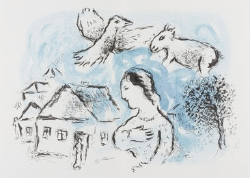 Marc Chagall, 'Derrière le Miroir No 225 & 246,' 1977 & 1981, Forum Auctions: Editions and Works on Paper (March 2017)
