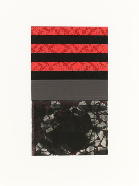 , 'Untitled: Red and Black,' 2015, Adah Rose Gallery