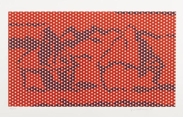 Roy Lichtenstein, 'Haystack #5', 1969, Kunzt Gallery