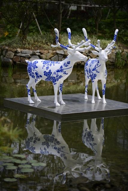 Liu Ren, 'US-Deers', 2012, Art+ Shanghai Gallery