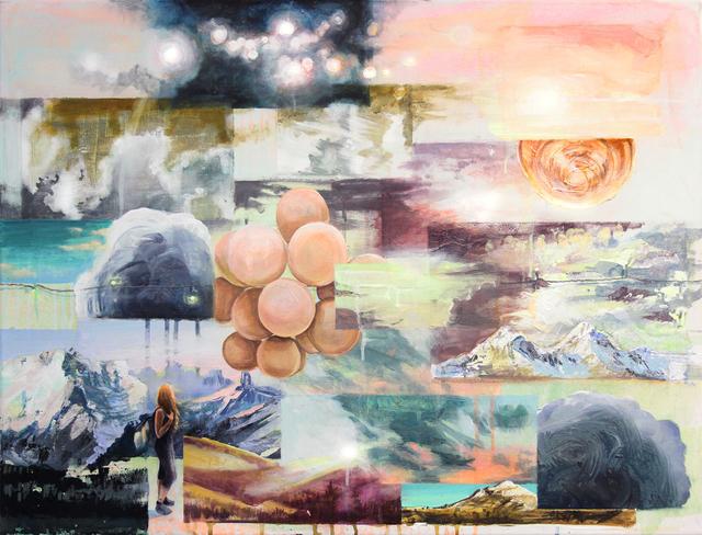 , 'mestagram - homage to Caspar David Friedrich,' 2017, GALERIE VON&VON