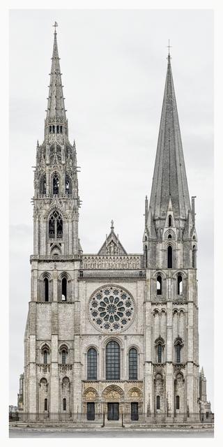 , 'Chartres, Cathédrale Notre-Dame,' 2012-2015, Yossi Milo Gallery