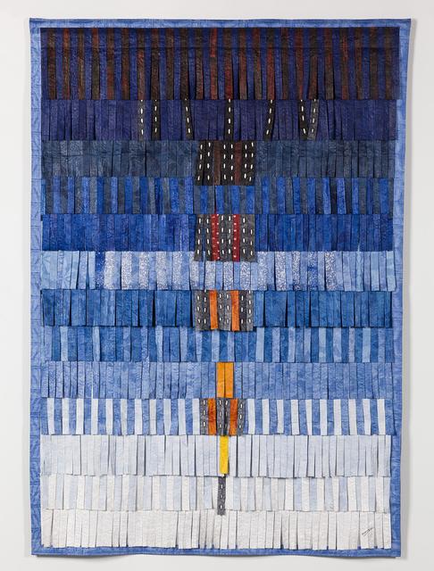 , 'Composition B/S (bleu  + plumage),' 2015, Blain | Southern