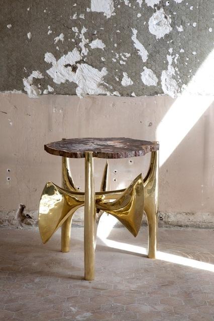 , '1993 Pedestal table,' , Galerie Yves Gastou