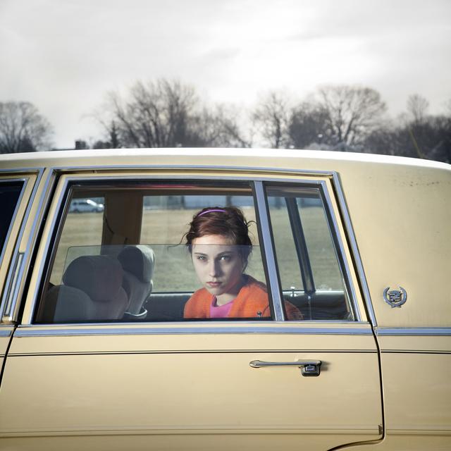 , 'Pale Yellow Cadillac, Sadie, Portland, Maine,' 2010, Beetles + Huxley