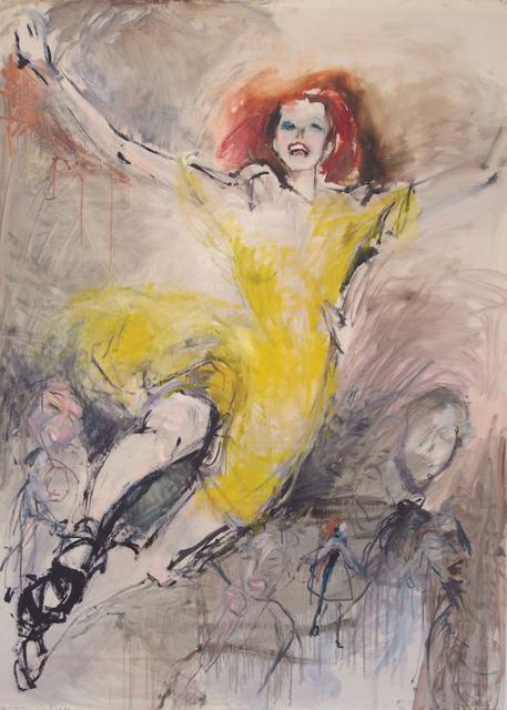 ", '""Yellow"",' 2018, Krokin Gallery"