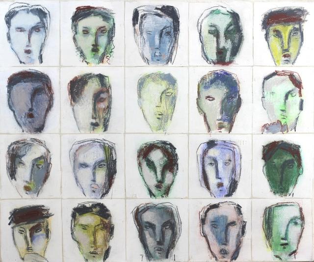 , 'Faces 44,' 2014, Artspace Warehouse